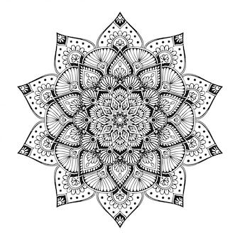 Kolorowanka mandalas, terapia orientalna, joga