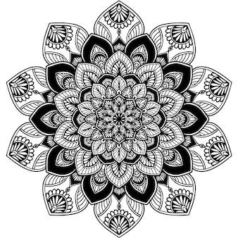 Kolorowanka mandalas, terapia orientalna