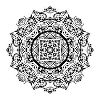 Kolorowanka mandale, terapia orientalna, joga
