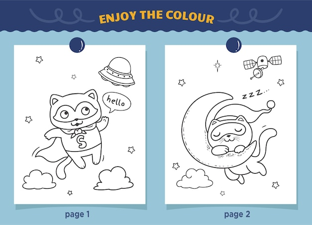 Kolorowanki dla dzieci superbohatera