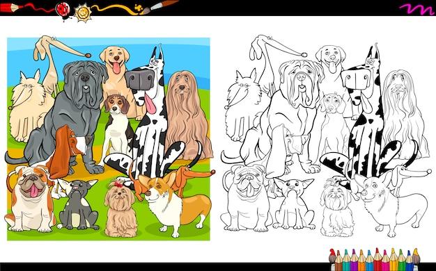 Kolorowanki psów rasowych