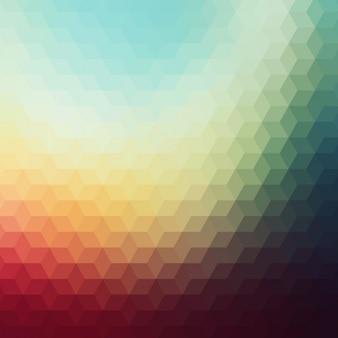 Kolorowe abstrakcyjne geometryczne tle