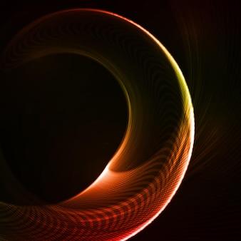 Kolorowe abstrakcyjne kształty futurystyczne.