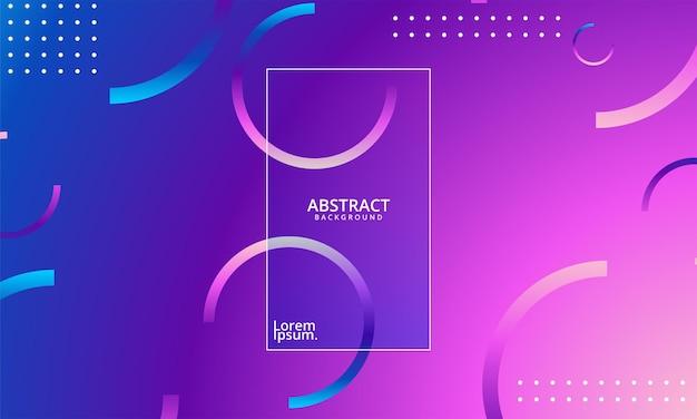 Kolorowe abstrakcyjne kształty. geometryczne tło