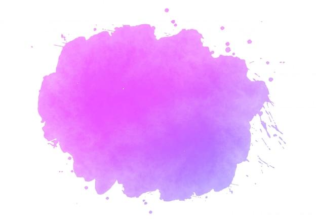 Kolorowe abstrakcyjne plamy akwarela