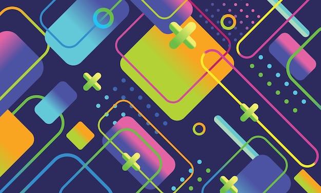 Kolorowe abstrakcyjne szablony tła, nowoczesne tło dla projektowania i kreatywnych pomysłów.