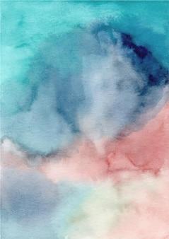 Kolorowe abstrakcyjne tekstury tła z akwarelą