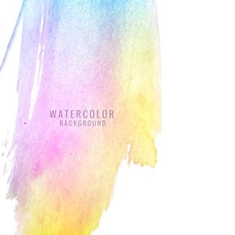 Kolorowe abstrakcyjne tło akwarela plama