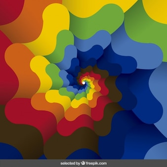 Kolorowe abstrakcyjne tło faliste