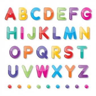 Kolorowe alfabet