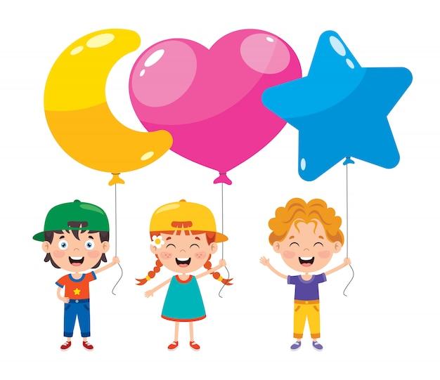 Kolorowe balony do dekoracji partii