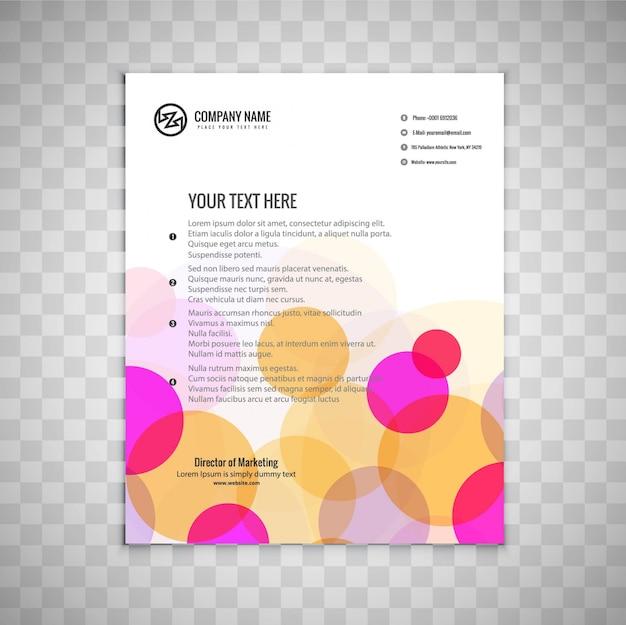 Kolorowe broszury biznesowe