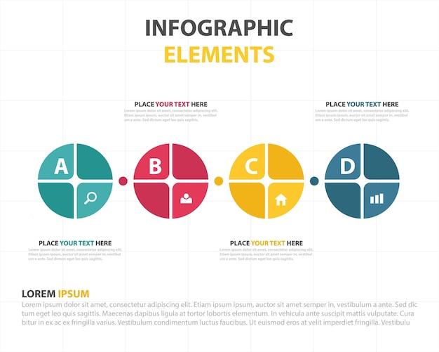 Kolorowe circle abstrakcyjne technologii cyfrowej tła futurystyczne