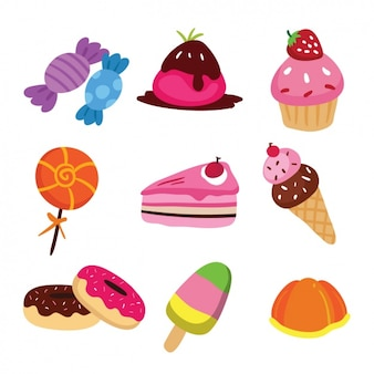 Kolorowe cukierki kolekcji