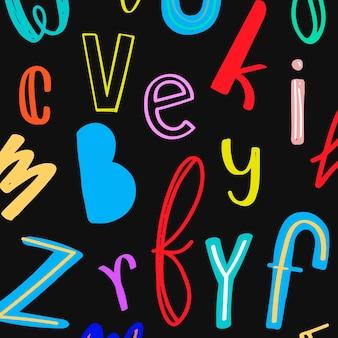 Kolorowe doodle wzorzyste tło doodle