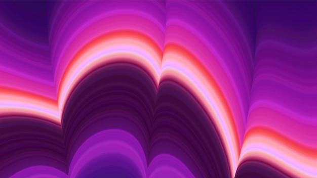 Kolorowe fale streszczenie tło wektor.