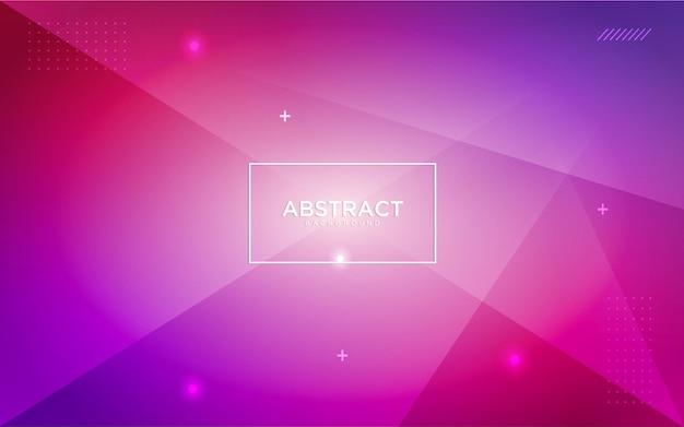Kolorowe geometryczne abstrakcyjne tło