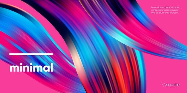 Kolorowe geometryczne tło o abstrakcyjnym kształcie