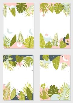 Kolorowe historie szablon projektu abstrakcyjne wzory tła letnia wyprzedaż