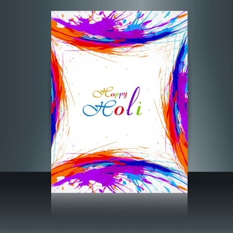 Kolorowe karty holi