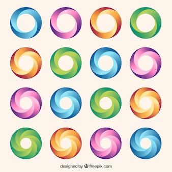 Kolorowe koła