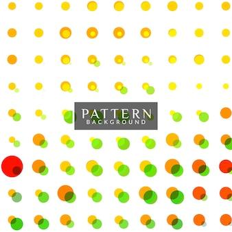 Kolorowe kropki tło wzór