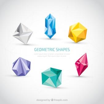 Kolorowe kształty geometryczne