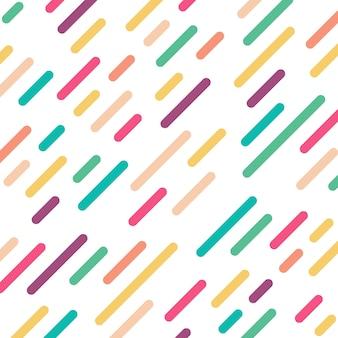 Kolorowe linie tła