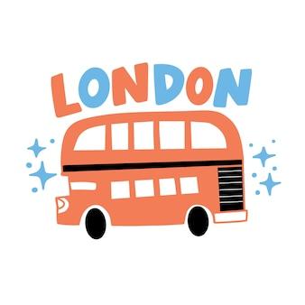 Kolorowe litery miasta londyn