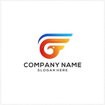 Kolorowe logo g ikony