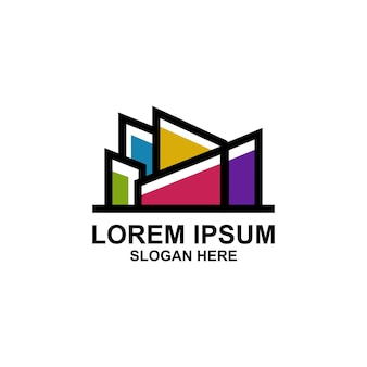 Kolorowe logo miasta