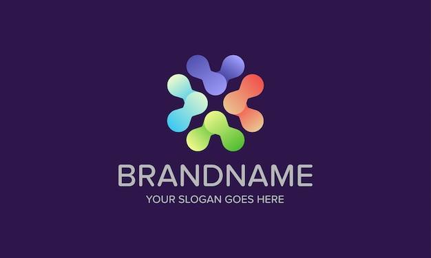 Kolorowe logo połączenia