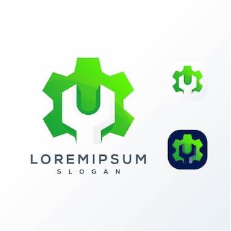 Kolorowe logo serwisowe sprzętu