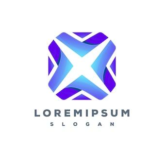 Kolorowe logo technologii gotowe do użycia