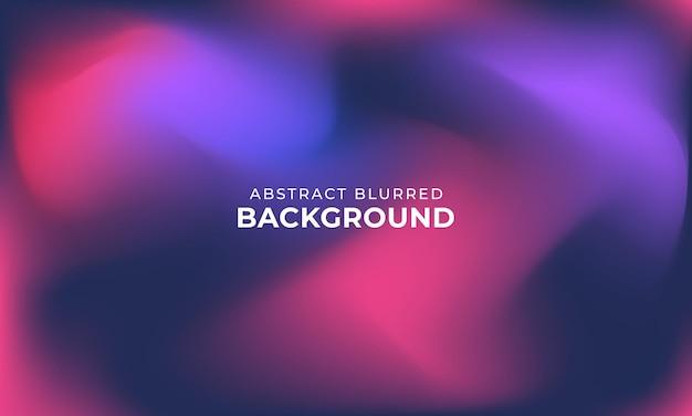 Kolorowe niewyraźne abstrakcyjne tło z gradientem siatki