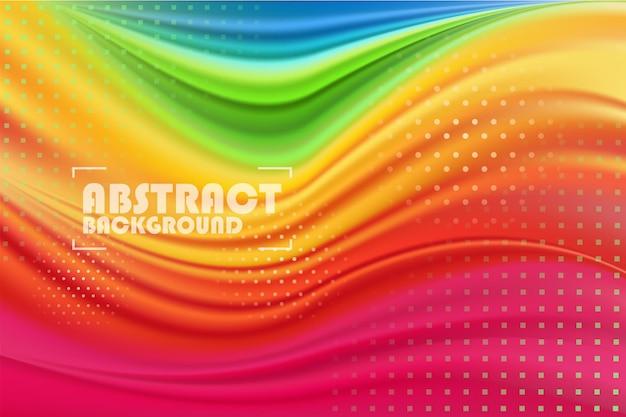Kolorowe nowoczesne abstrakcyjne tło