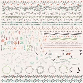 Kolorowe ornamenty
