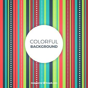 Kolorowe pionowe linie