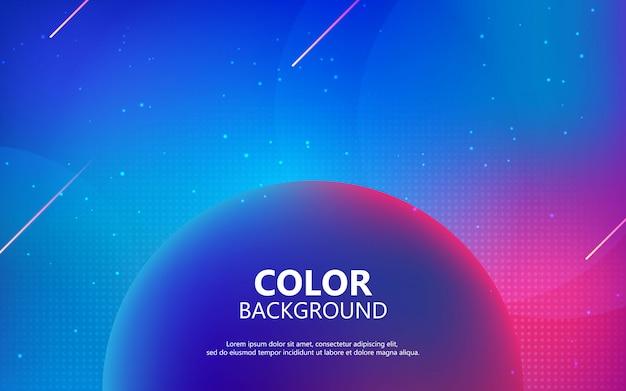Kolorowe płynne tło. futurystyczny kształt gradientu.