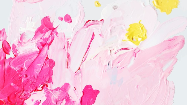 Kolorowe pociągnięcia pędzlem akrylowym