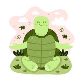 Kolorowe pojęcie medytacji
