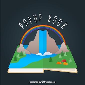 Kolorowe pop-up book