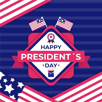 Kolorowe powitanie dnia prezydenta