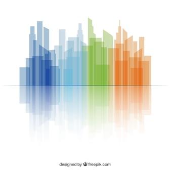 Kolorowe skyline