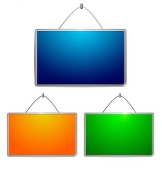 Kolorowe stoły