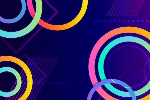 Kolorowe streszczenie styl tapety