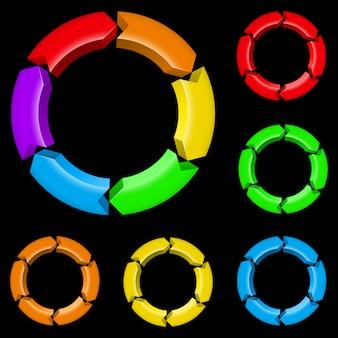 Kolorowe strzały