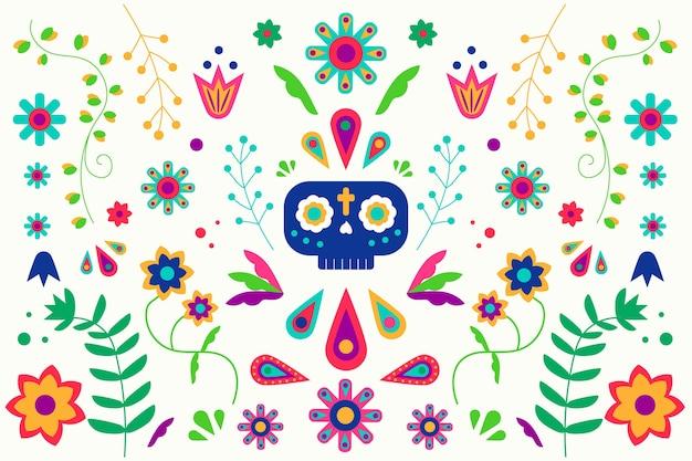 Kolorowe tapety meksykańskie