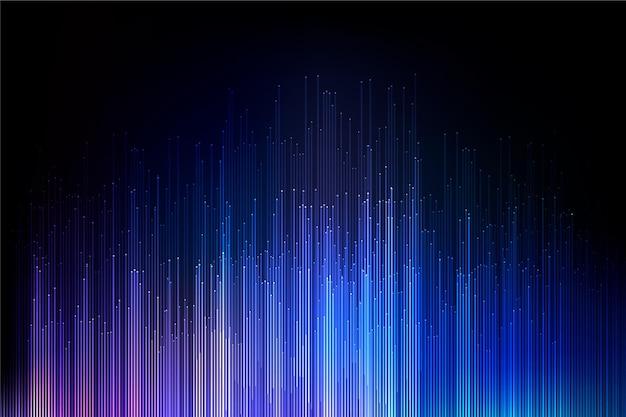 Kolorowe tapety światła gradientu