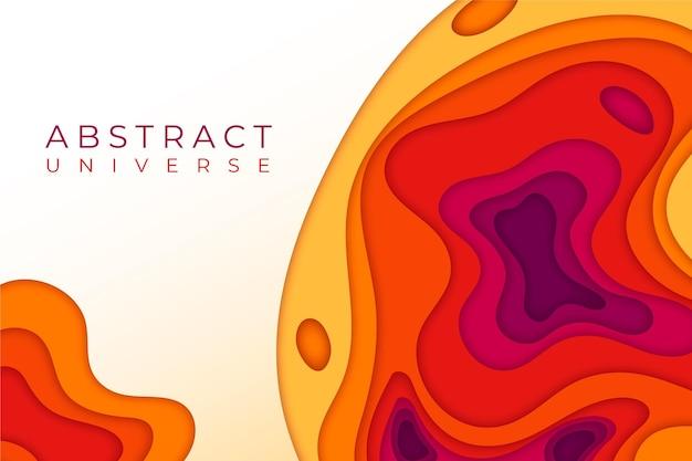 Kolorowe tło abstrakcyjne w stylu papieru